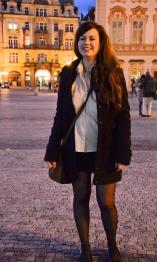 Prague Wandering Spring 2013 Issue Number 1 fashion street style Marta Ondreilova