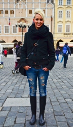 Prague Wandering Spring 2013 Issue Number 1 fashion street style Tereza L