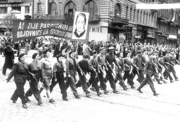 Czechs fear a return of the Communist Party, but not necessarily a return of the 1949 May Day parades.