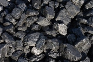 Unrefined coal is a key resource for Ostrava's once booming steel industry. Photo courtesy of ________
