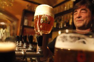Beer is one of the Czech Republic's most prized products. Photo courtesy of www.saveur.com.