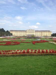 The Schönbrunn Palace in Vienna boasts 1,441 rooms.  Photo courtesy of Celine Sidani