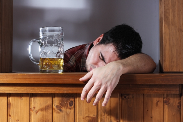 When the night gets too crazy,  the 'drunk tank' is where you sober up for the night.