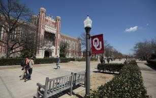 After members of Sigma Alpha Epsilon's University of Oklahoma chapter were caught on video singing a racist chant, OU shut their chapter down. Photo courtesy of NBC News.