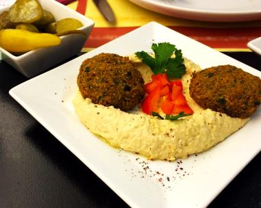 My meal at Bissili. Courtesy of Mariah Melendez.