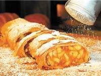 Fresh strudel from Susta Strudl. Photo courtesy Pinterest.